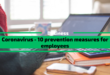 Coronavirus – 10 Prevention Measures for Employees