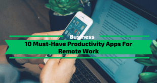 Productivity Apps For Remote Work