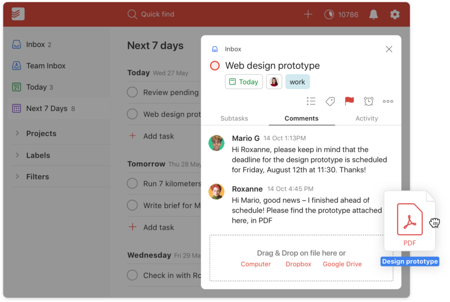 Todoist Project Management Tool Overview