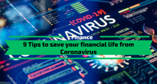 Tips to Save your Financial Life from Coronavirus
