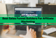 Best Sales Funnel Builders For Affiliate Marketing in 2021