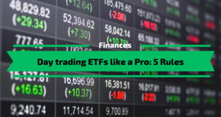 Day trading ETFs like a Pro: 5 Rules