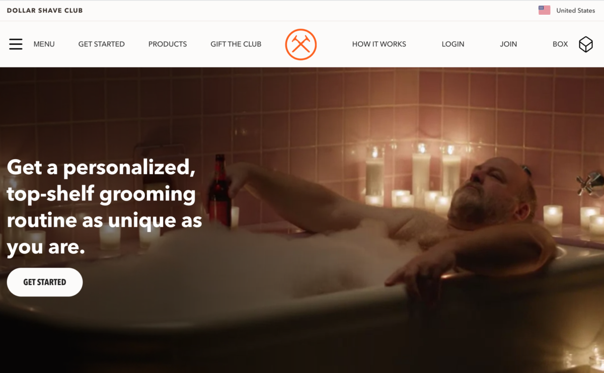 DollarShaveClub Subscription eCommerce