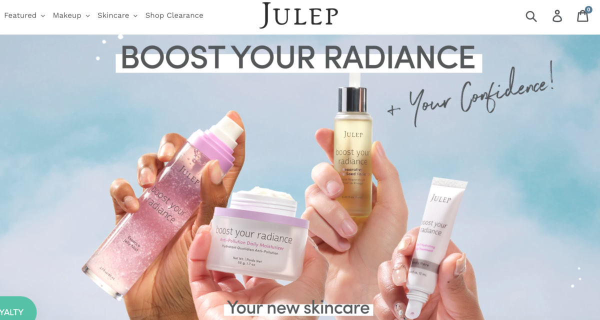 Julep Subscription eCommerce