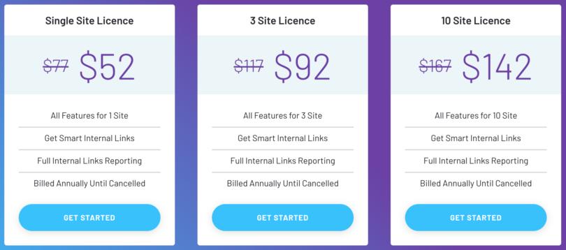 LinkWhisper Pricing Plans