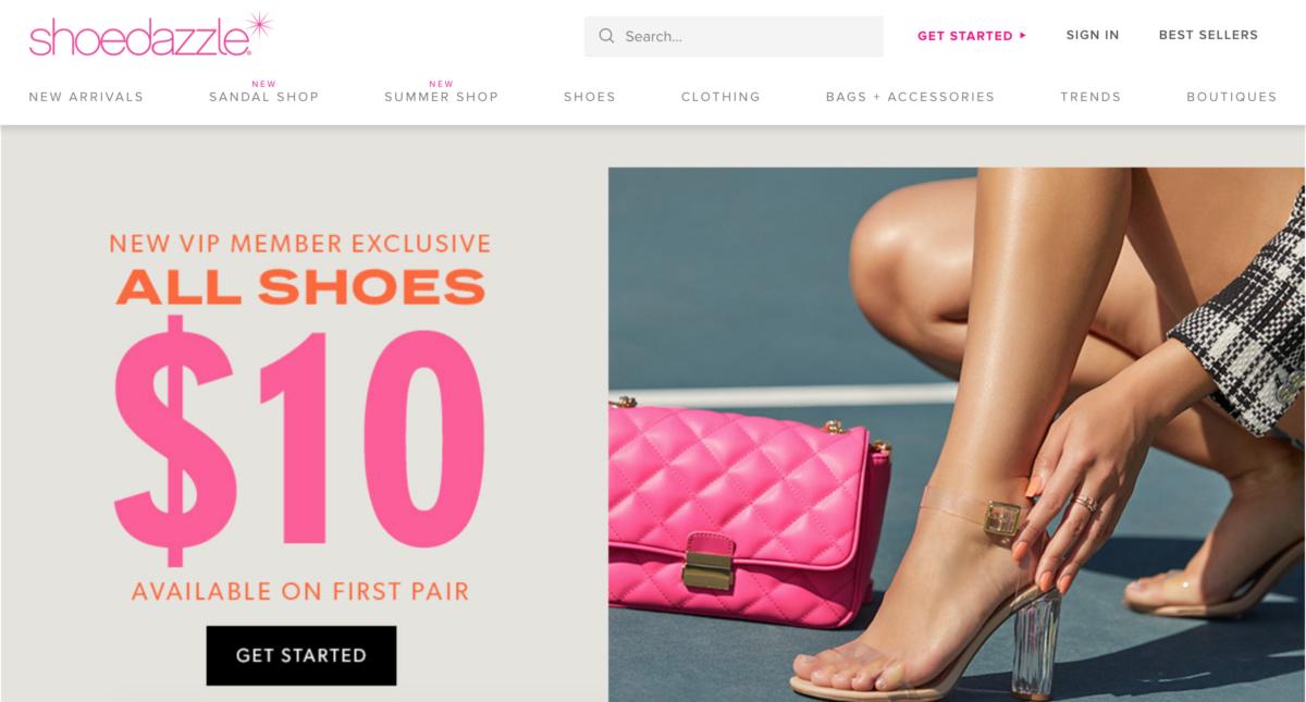 Shoedazzle Subscription eCommerce