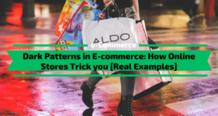 Dark Patterns in E-commerce