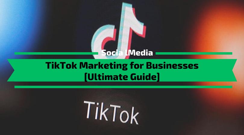 TikTok Marketing for Businesses [Ultimate Guide]