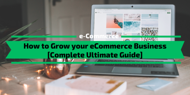 How to Grow your eCommerce Business Fast [2020 Ultimate Guide]