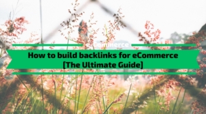 How to build backlinks for eCommerce [The Ultimate Guide]