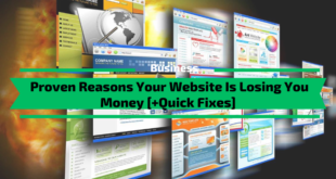 Proven Reasons Your Website Is Losing You Money