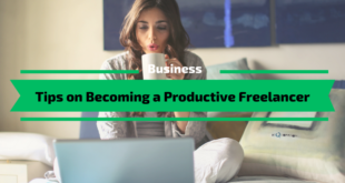 Tips on Becoming a Productive Freelancer