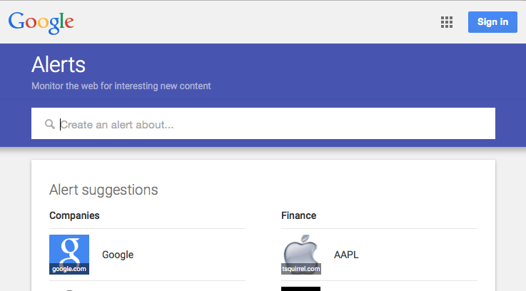 Use google alerts to find mentions of your brand online.