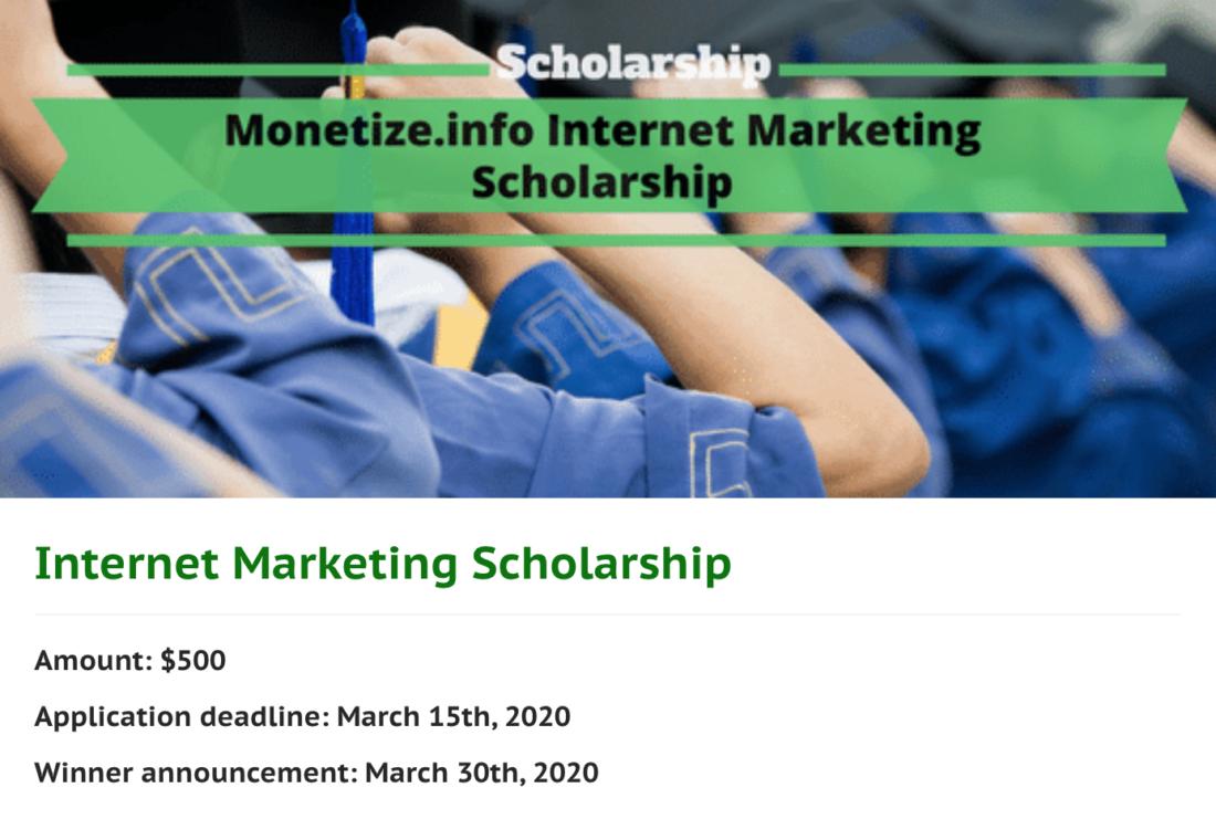 Scholarship Example