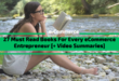 27 Must Read Books For Every eCommerce Entrepreneur [+ Video Summaries]