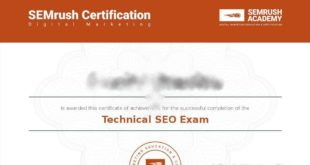 SEMrush Technical SEO Certification Exam Answers