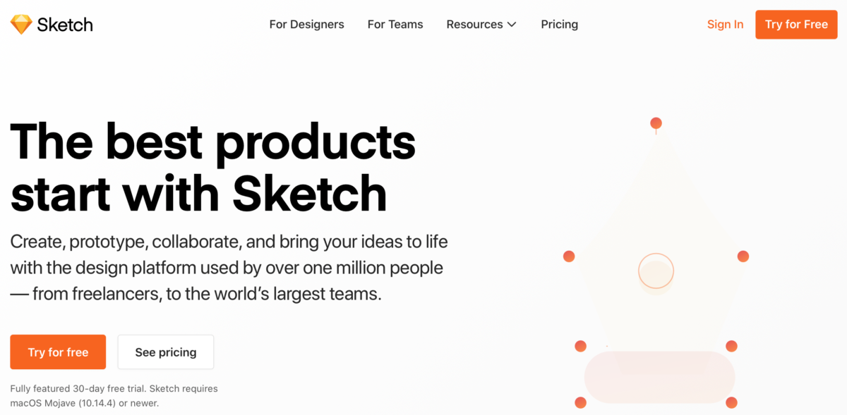 Sketch - Prototyping eCommerce tools