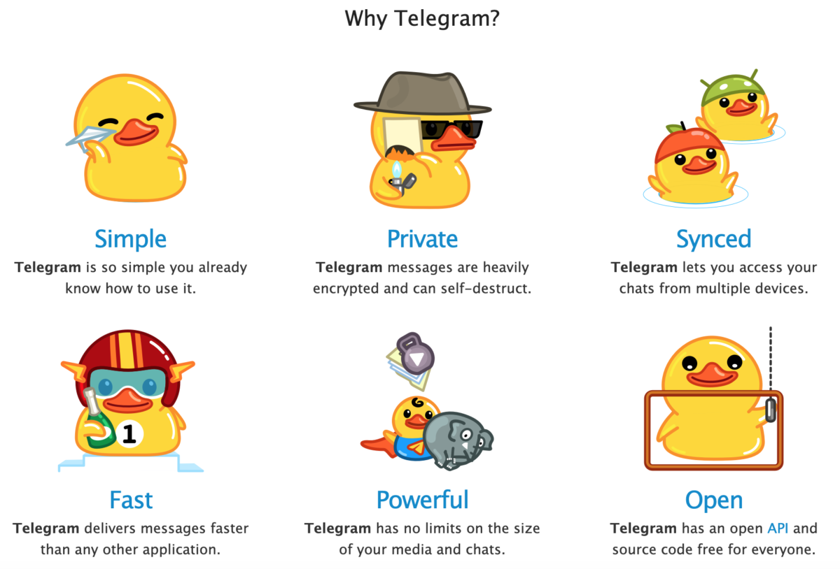 Why to use Telegram