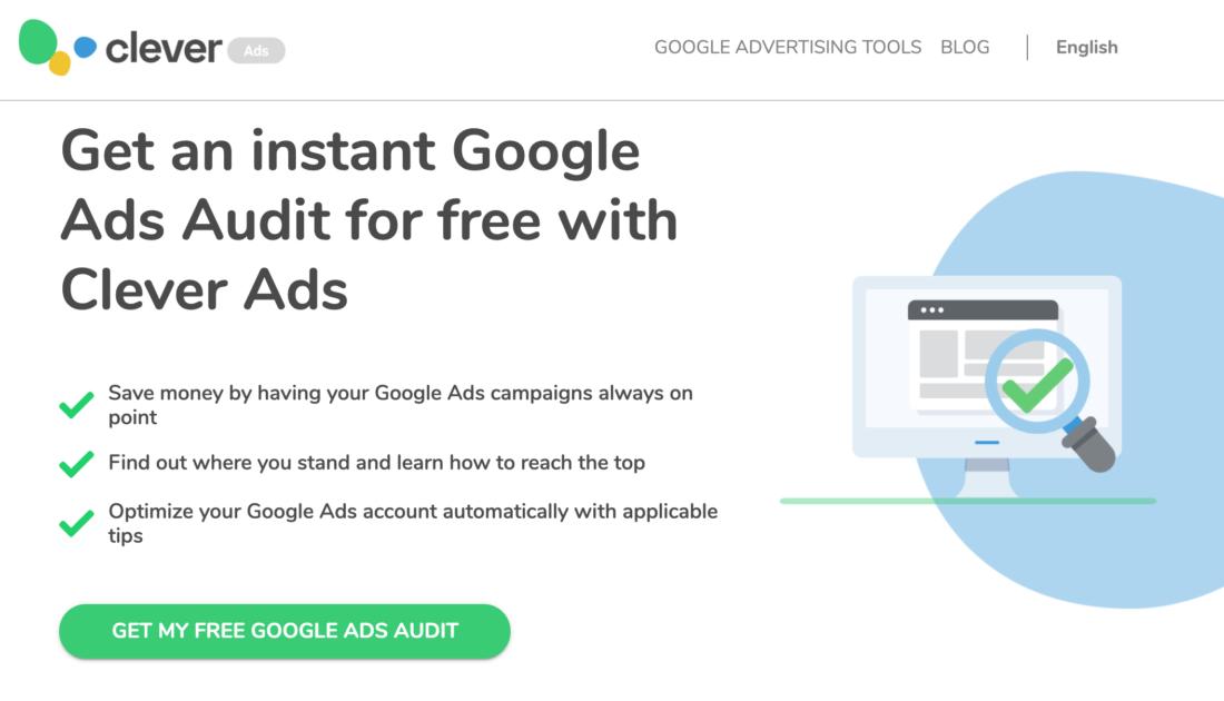 CleverAds Instant Google Ads Audit