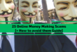 25 Money Making Scams [+ How to avoid them Guide]