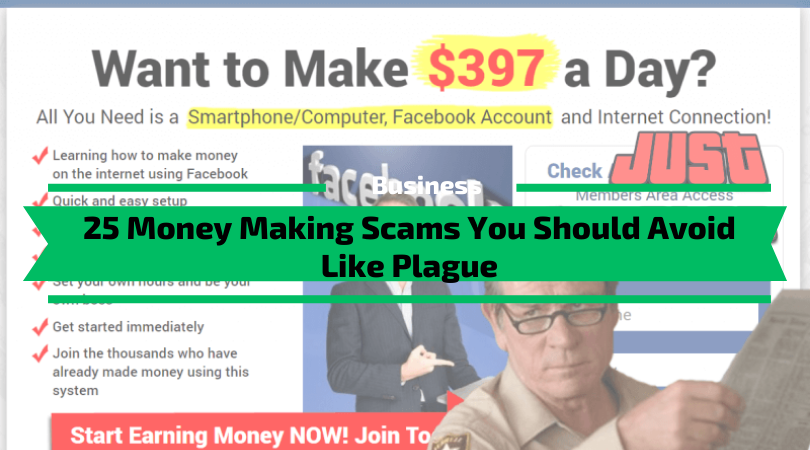 25 Money Making Scams You Should Avoid