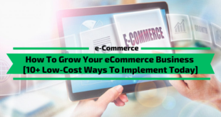 Grow Your eCommerce Business [10+ Low-Cost Ways]