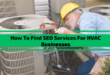 How To Find SEO Services For HVAC Businesses