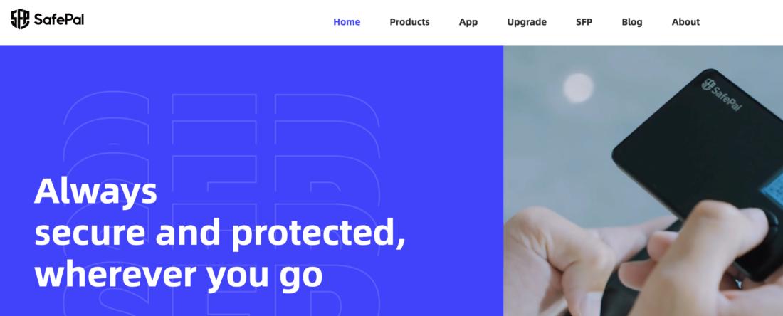 Crypto hardware wallet - SafePal
