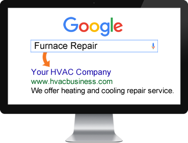 Search for a HVAC business Online