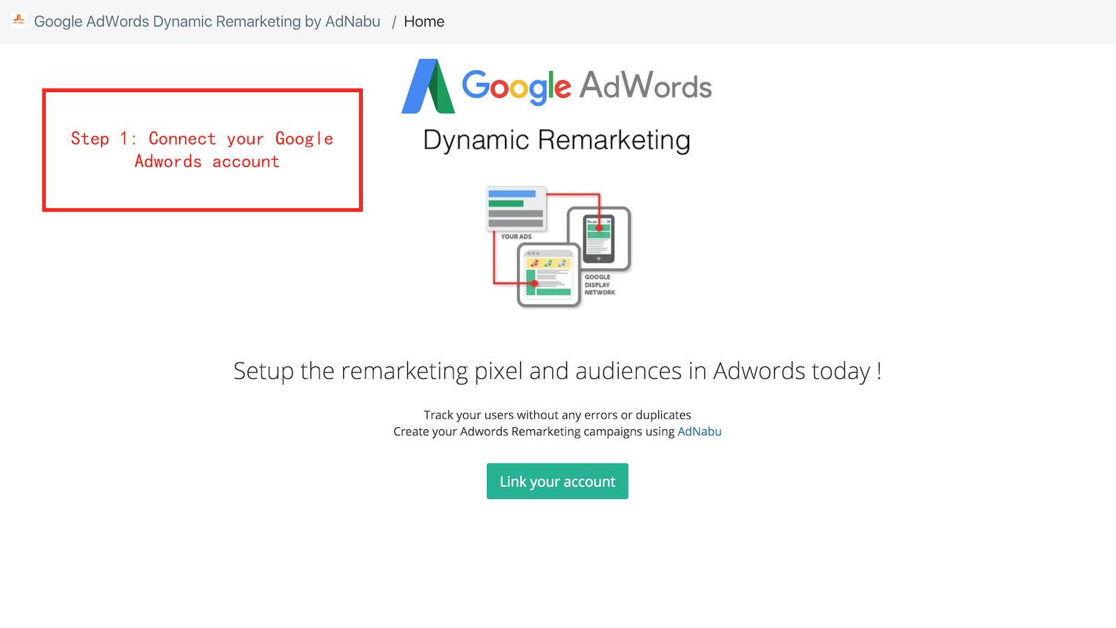 15. Google Ads Retargeting Pixel by AdNabu