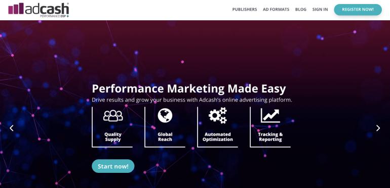 Adcash Advertising Network