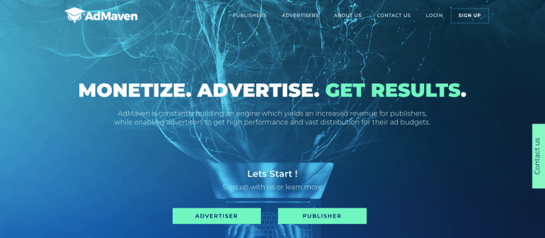 AdMaven Advertising Network