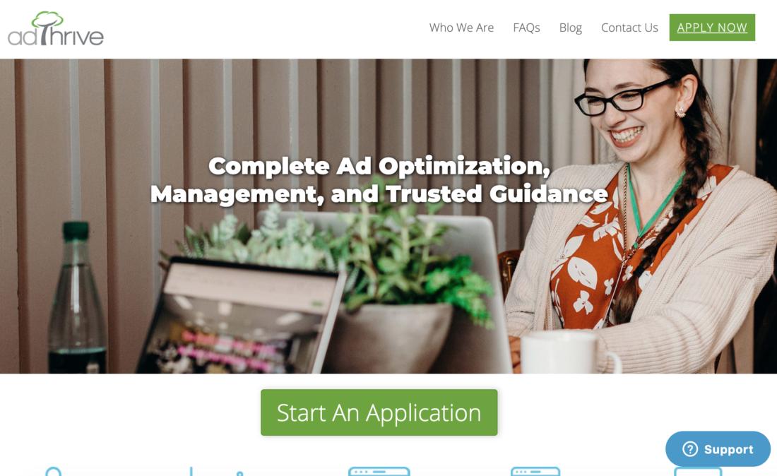Adthrive Advertising Network