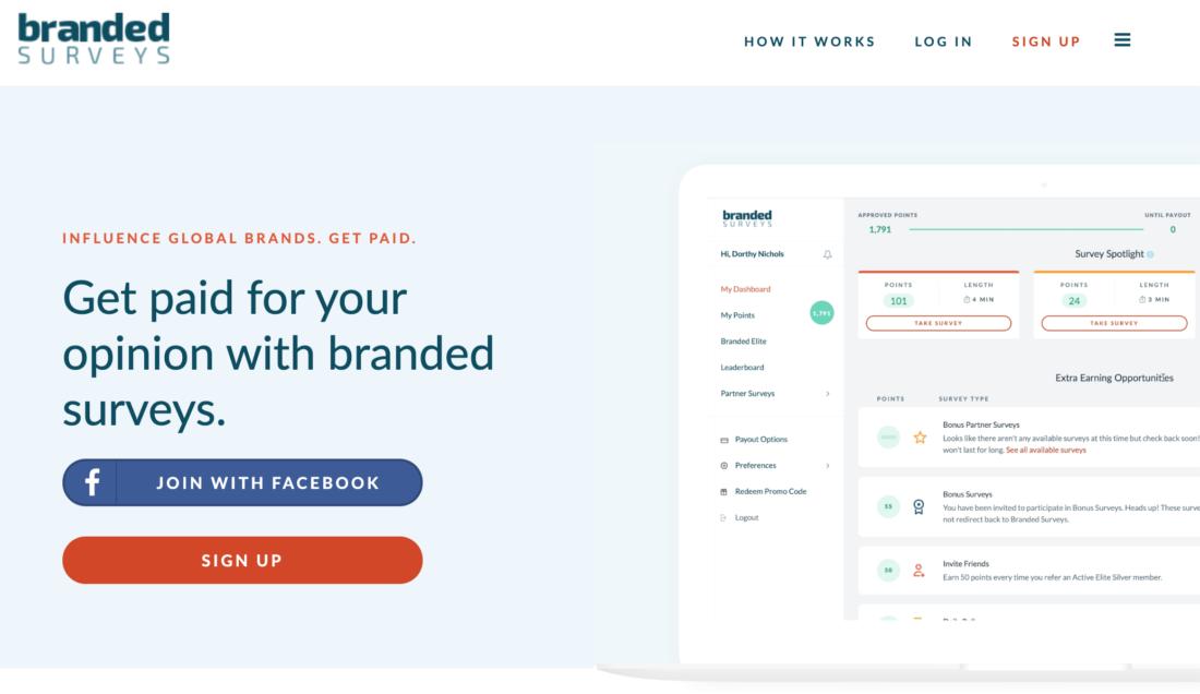 Best Paying Survey Sites - BrandedSurveys