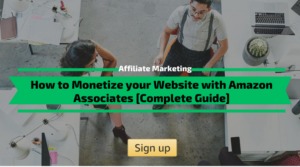 How to Monetize your Website with Amazon Associates
