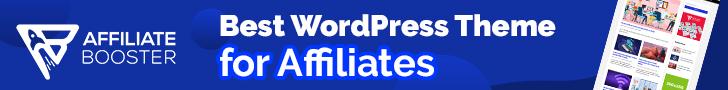 Get AffiliateBooster WordPress theme