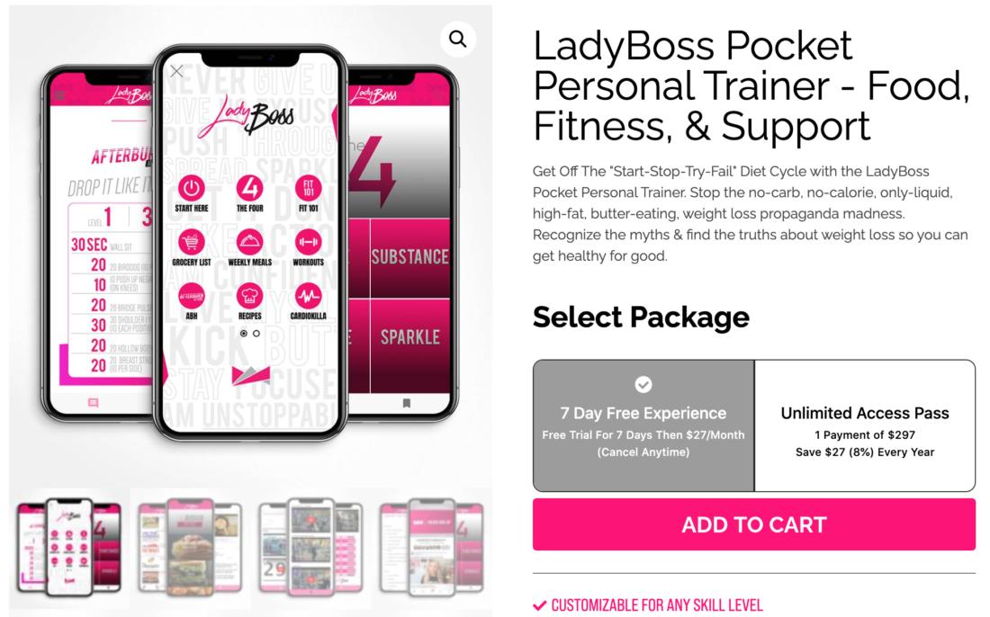 LadyBoss Paid Membership Program