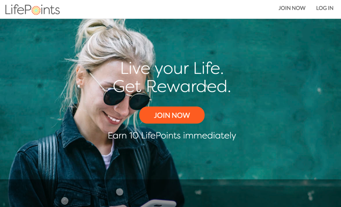 Paying Survey Website - Life Points