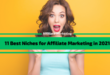 11 Best Niches for Affiliate Marketing in 2021