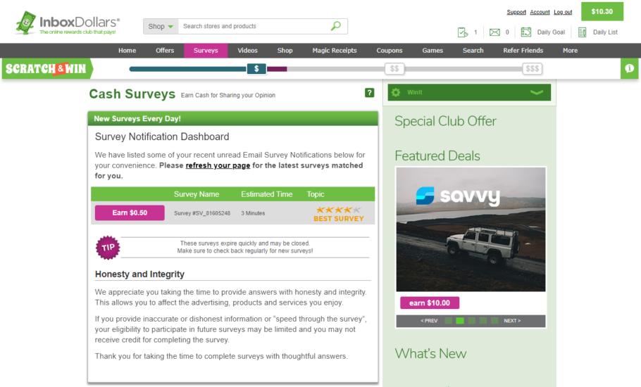 InboxDollars-Complete-surveys-to-make-money.