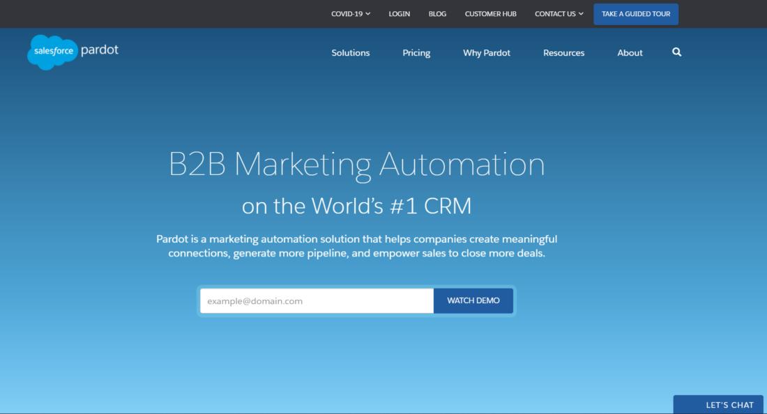 Pardot by Salesforce - Marketing Automation Platform