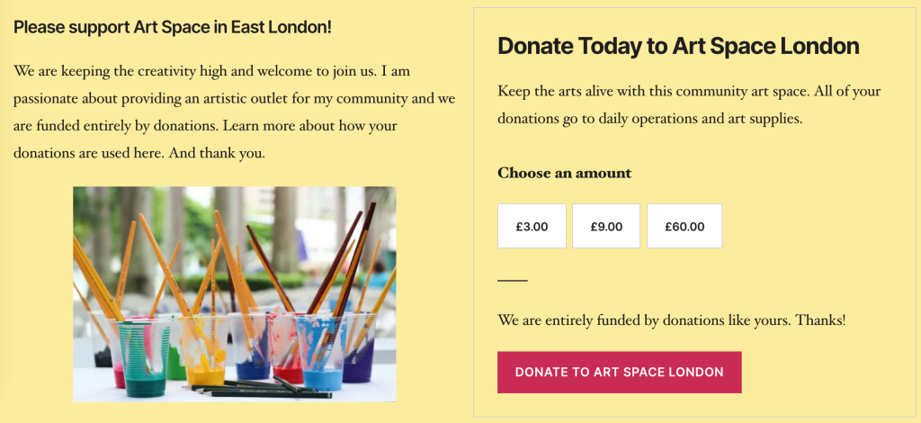 How to accept donations on your blog