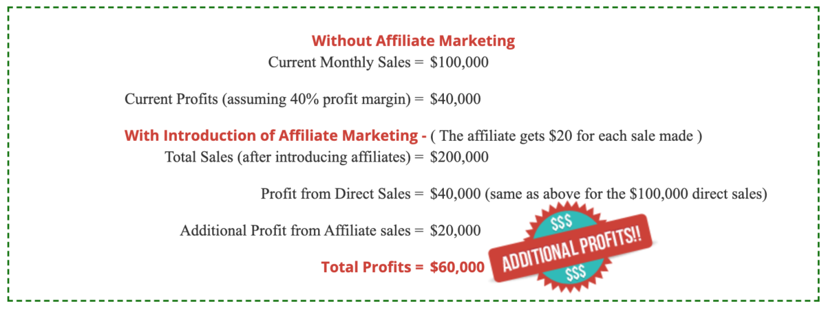 Case study of an Affiliate Marketing Program Benefits for Merchants