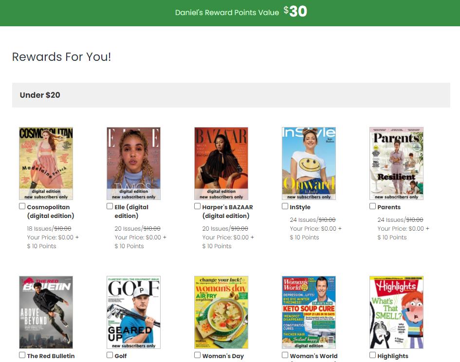 RewardSurvey - Magazines
