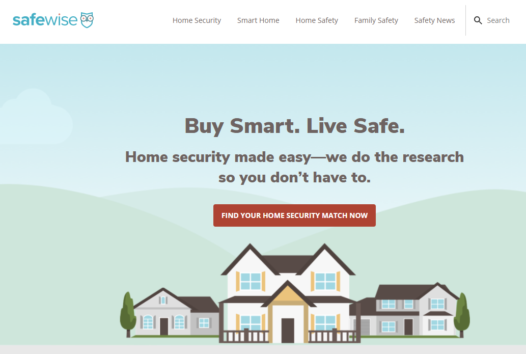 Safewise - Affiliate Marketing Blog Example