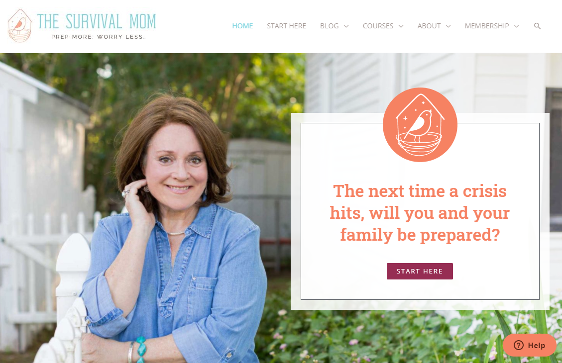The Survival Mom - Prepping blog (Business Ideas You can Start in 2021)
