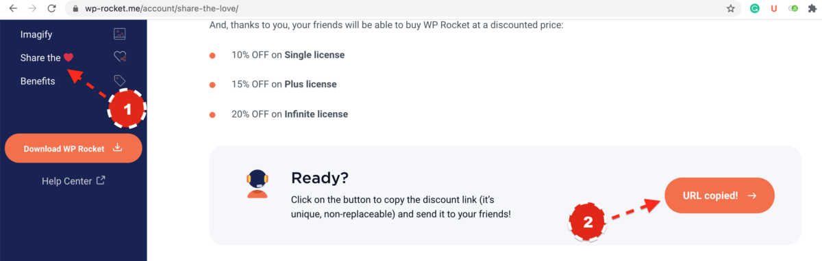 Join the WP Rocket Referral Program