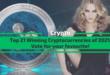 Top 21 Winning Cryptocurrencies of 2021