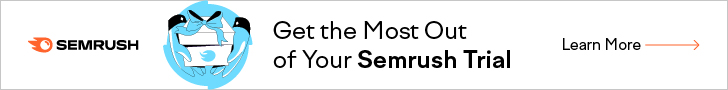 -> Make the most of your Semrush 14 days trial