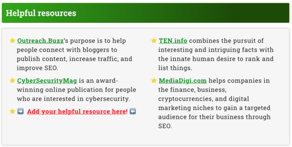 Homepage mentions on Monetize.info